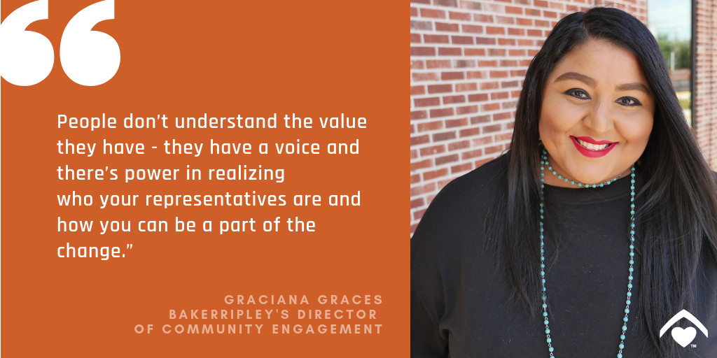 Graci talks about the power of civic engagement
