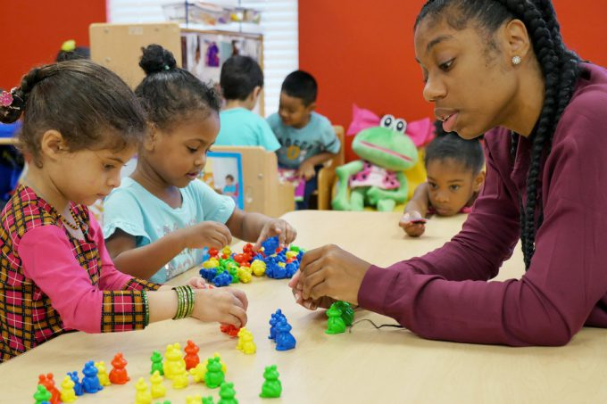 BakerRipley's founding program: early childhood education