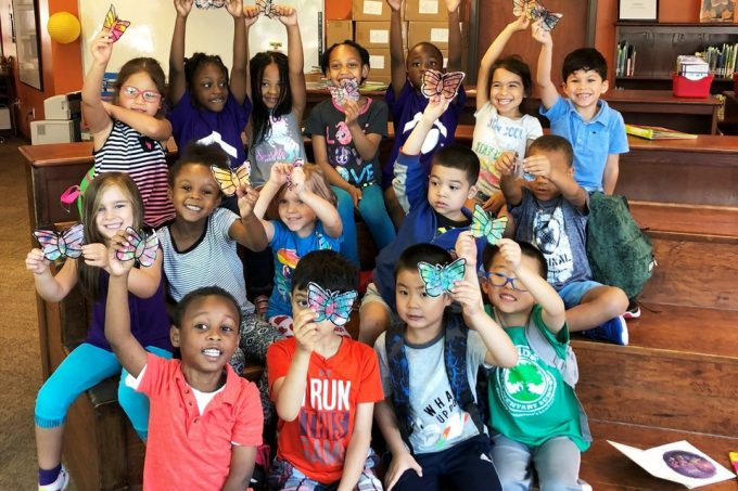 Butterfly in the Sky: Science Summer Learning with our Fab Lab Houston