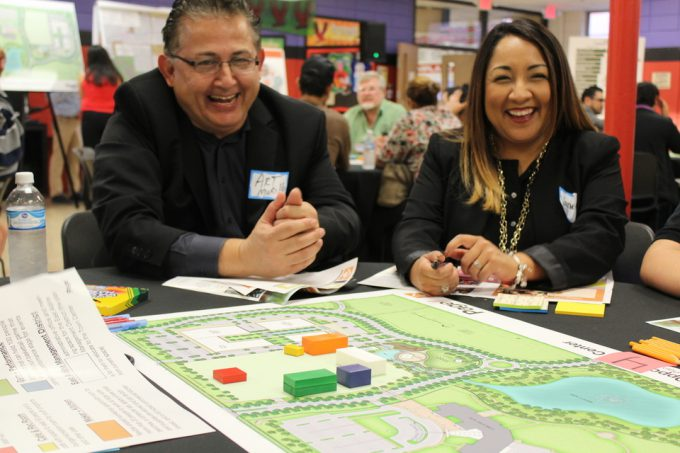 The Making of a Center: East Aldine