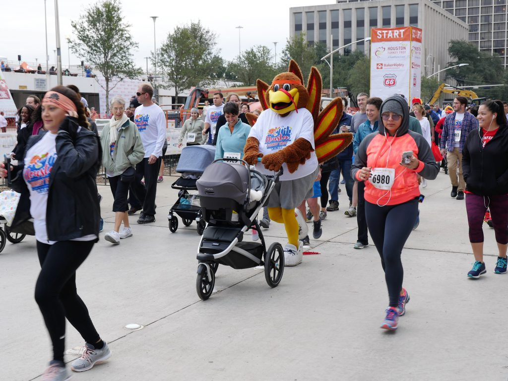 The BakerRipley Houston Turkey Trot _runners